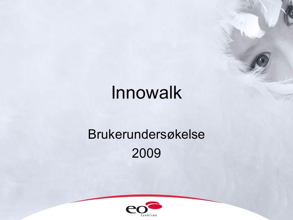 Innowalk Brukerundersøkelse 2009