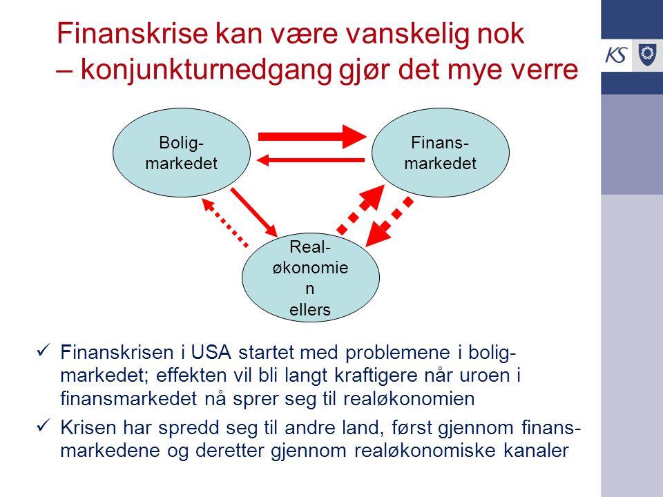 5 av 8 kommuner i Akershus får svakere nto driftsresultat i år – herav én negativt