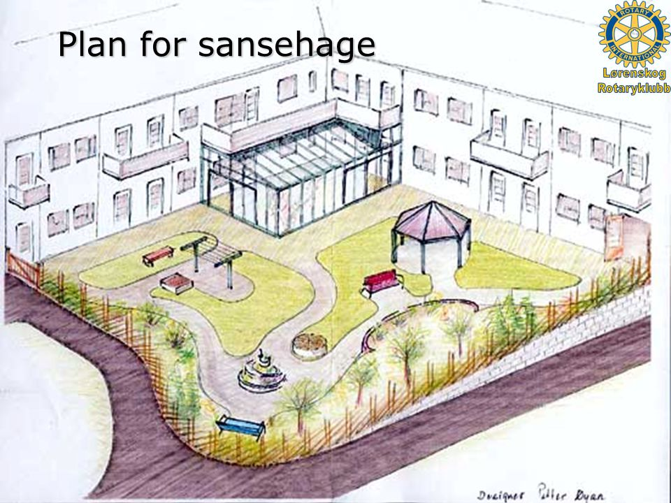 ROTARY INTERNATIONAL PDG Barry Matheson 16.02.2005 Plan for sansehage
