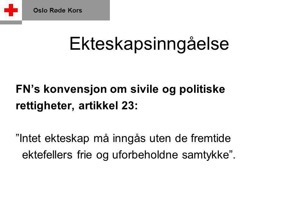 Spørsmål, - store eller små? Ring 815 55 201 Oslo Røde Kors