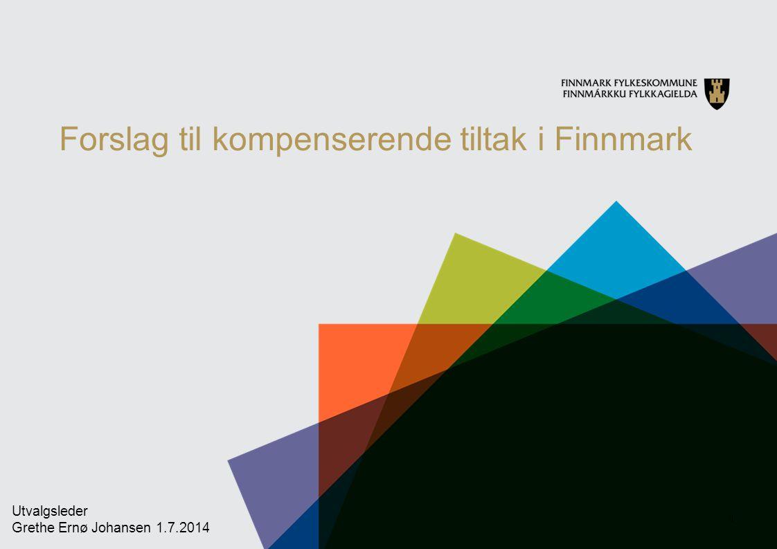 Finnmark ønsker et vegløft med fokus på: Utbedre flaskehalser for næringslivet.