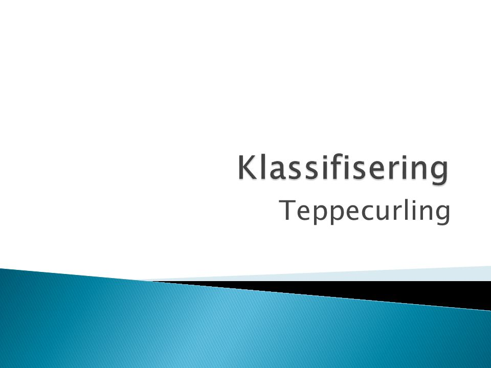 Teppecurling