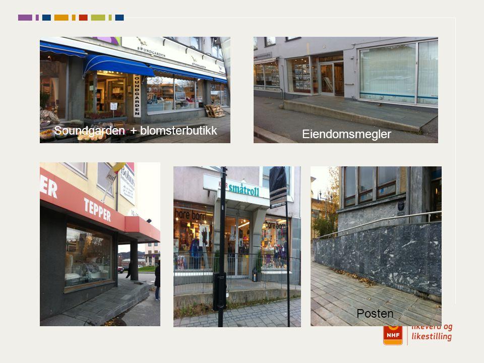 Posten Eiendomsmegler Soundgarden + blomsterbutikk