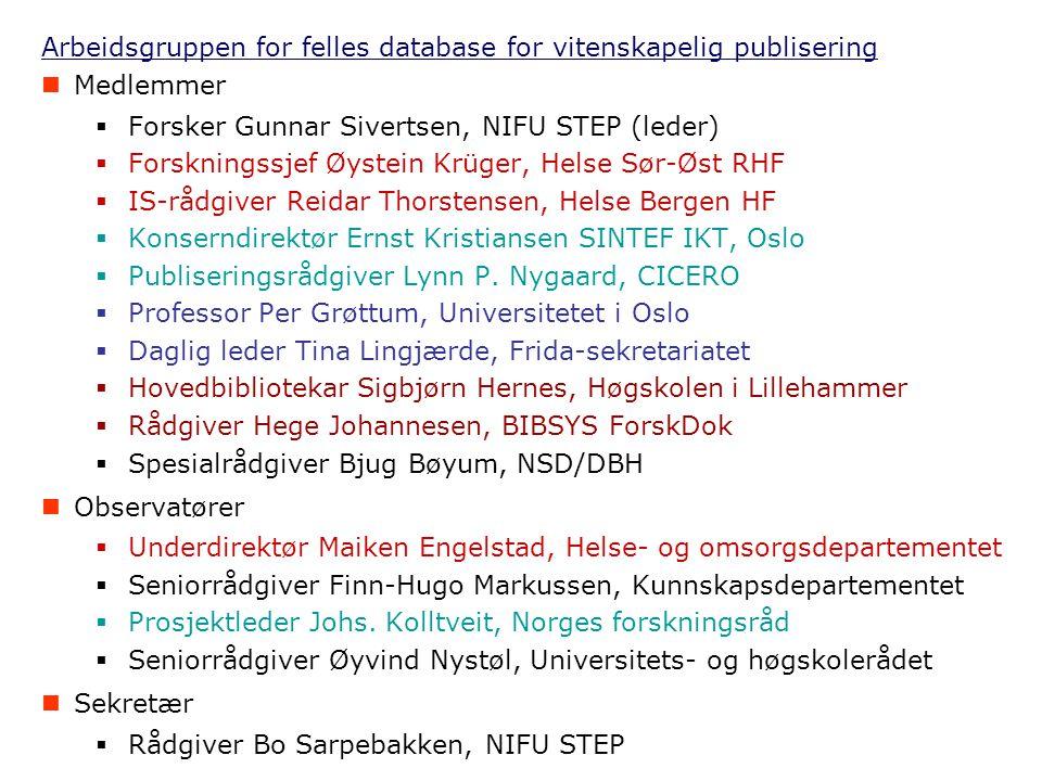 Publiseringsindikator for helseforetakene f.o.m.2004-busjettet.