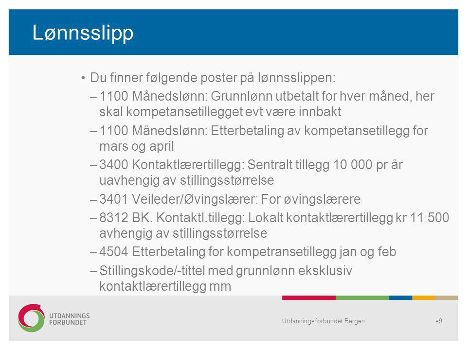 Utdanningsforbundet Bergens10