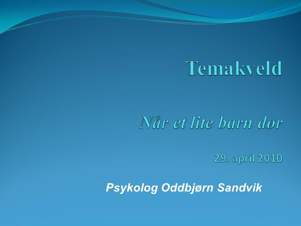 Psykolog Oddbjørn Sandvik