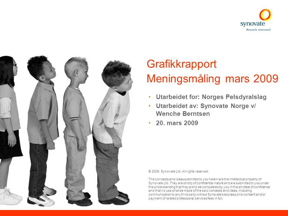© Synovate 2009 1 Prosjektinformasjon Formål: Kartlegge nordmenns kunnskaper om og holdninger til pelsdyrnæringen.