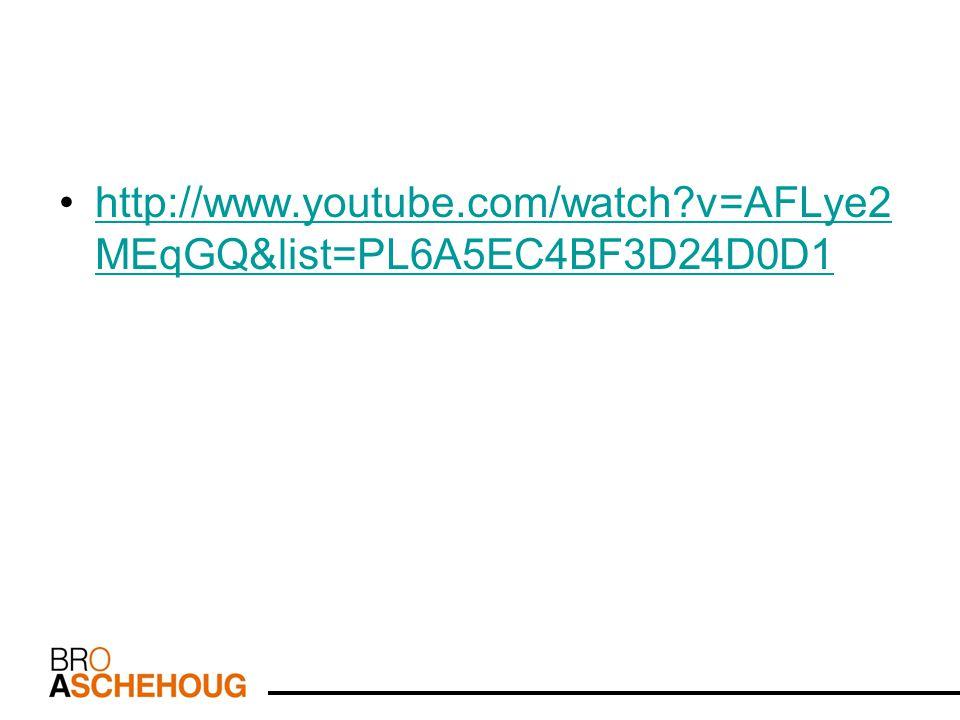 http://www.youtube.com/watch?v=AFLye2 MEqGQ&list=PL6A5EC4BF3D24D0D1http://www.youtube.com/watch?v=AFLye2 MEqGQ&list=PL6A5EC4BF3D24D0D1