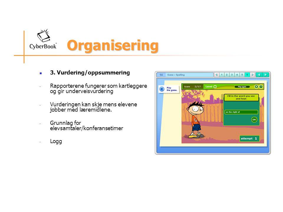 Organisering 3.