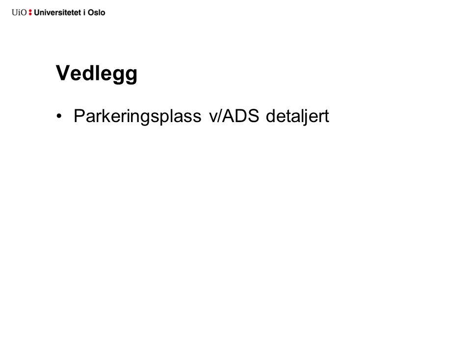 Vedlegg Parkeringsplass v/ADS detaljert