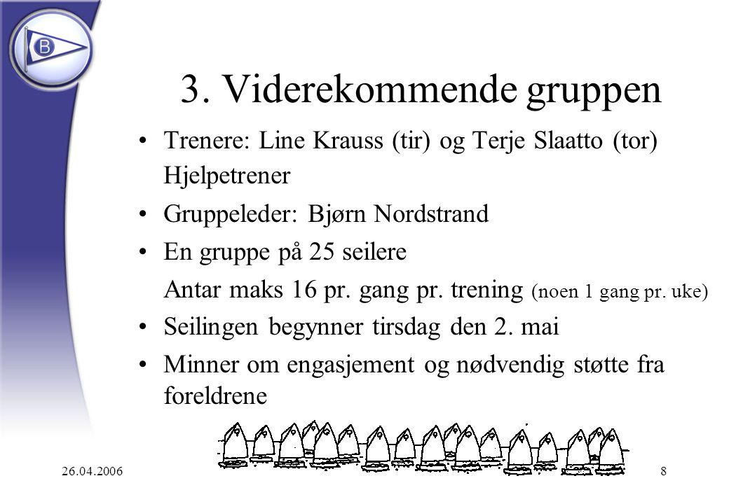 26.04.20069 Hva er nytt for VK-seilere.
