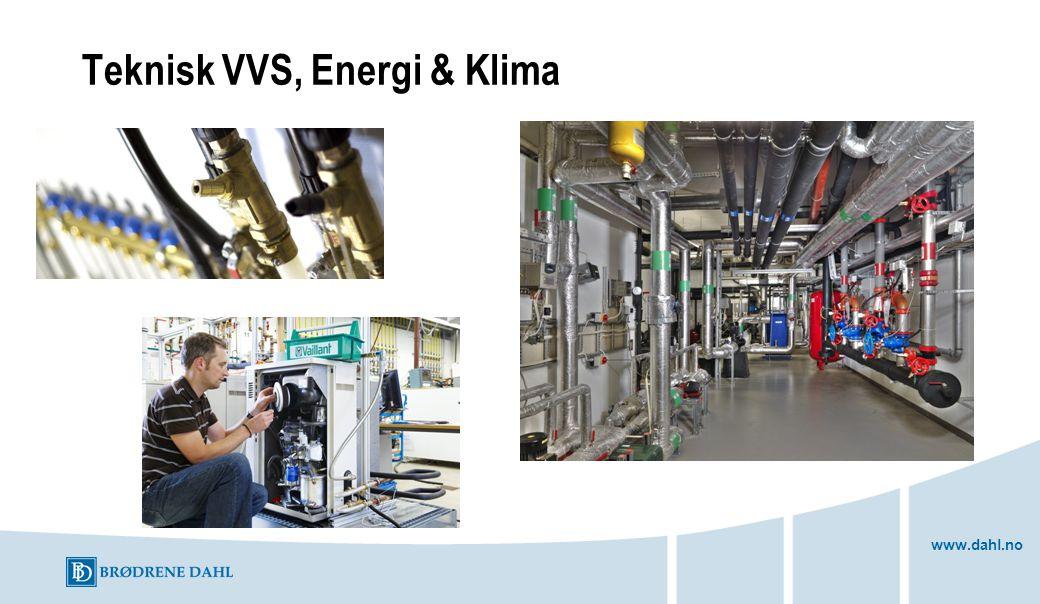 www.dahl.no Teknisk VVS, Energi & Klima