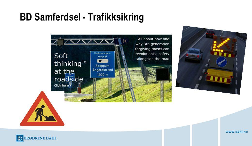 www.dahl.no BD Samferdsel - Trafikksikring