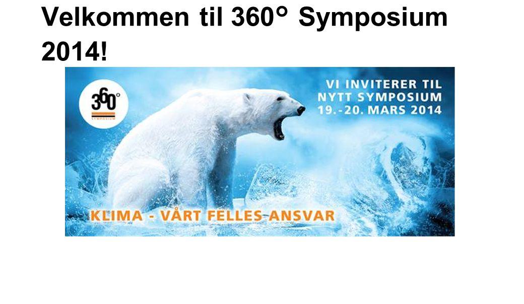 Velkommen til 360° Symposium 2014!