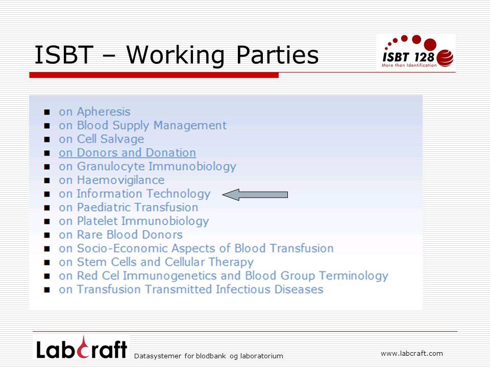 www.labcraft.com Datasystemer for blodbank og laboratorium Blodbestilling gjennom kikkehull