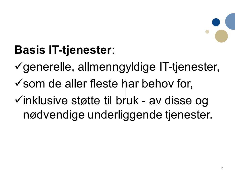 3 Basis IT 2010 - 2013 Intranett