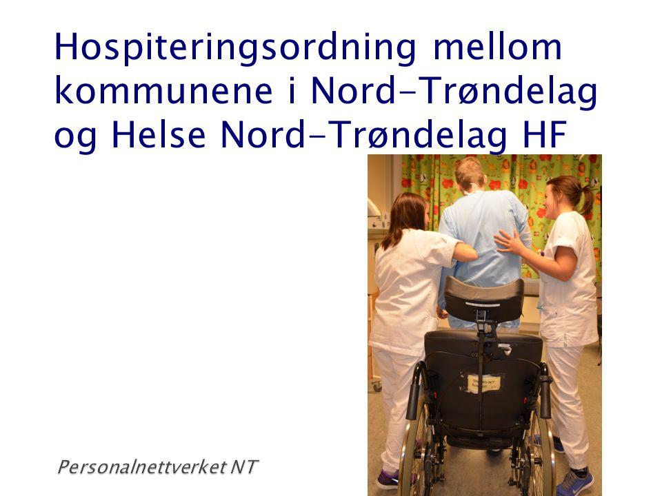 Hospiteringsordning mellom kommunene i Nord-Trøndelag og Helse Nord-Trøndelag HF