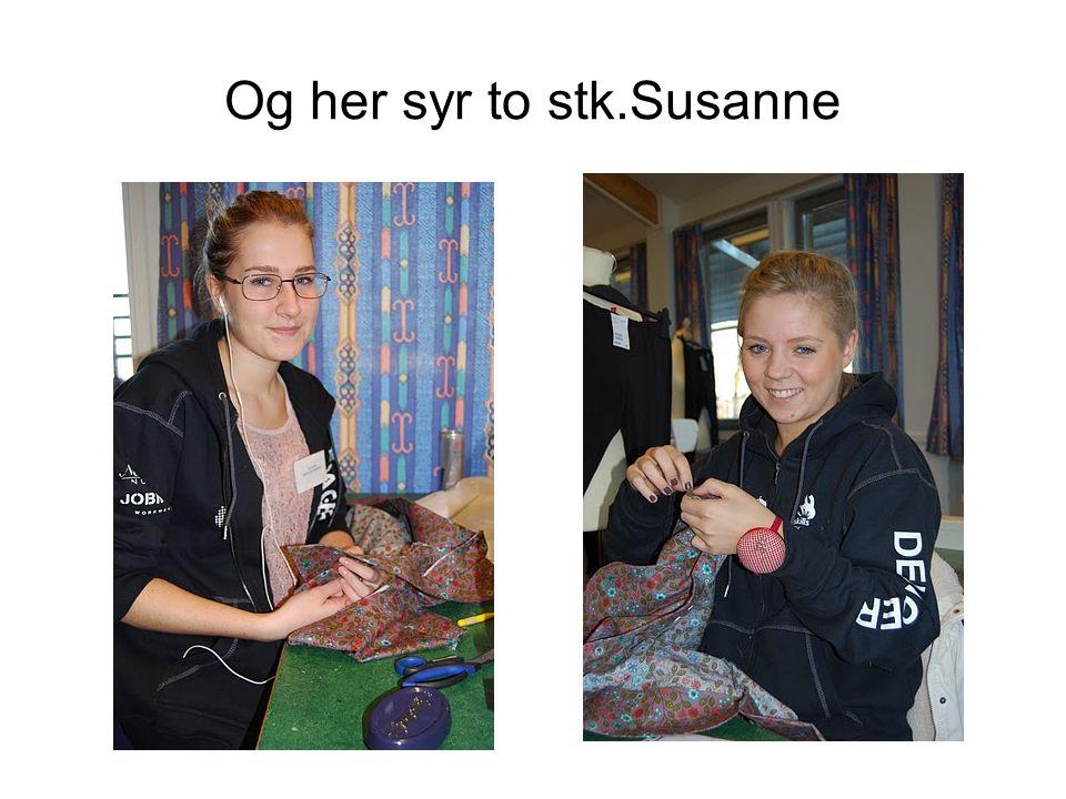 Og her syr to stk.Susanne