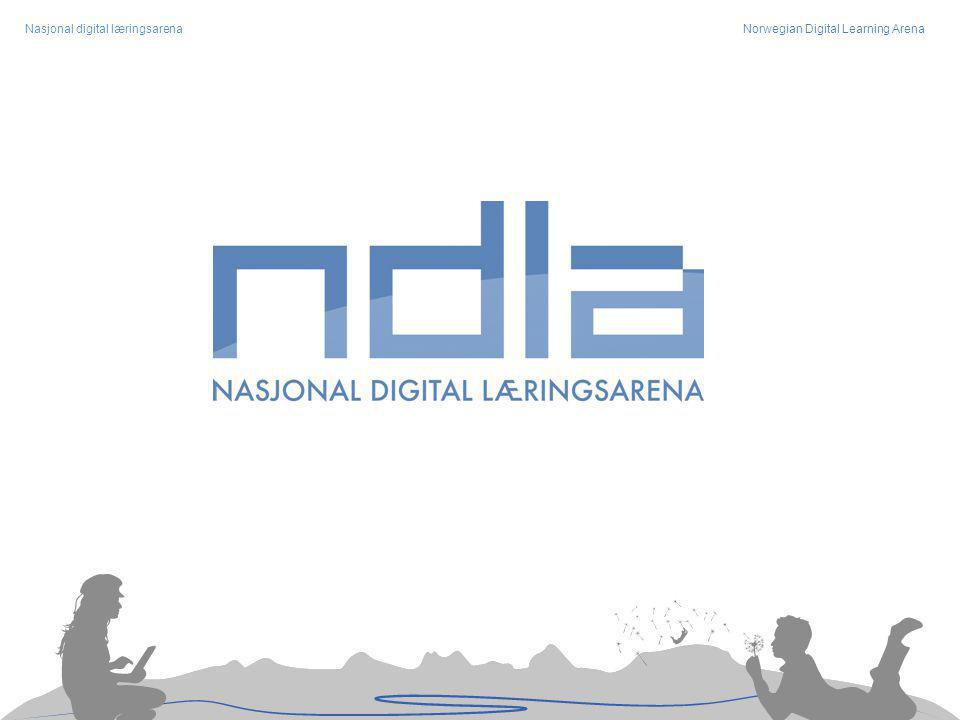 Nasjonal digital læringsarenaNorwegian Digital Learning Arena