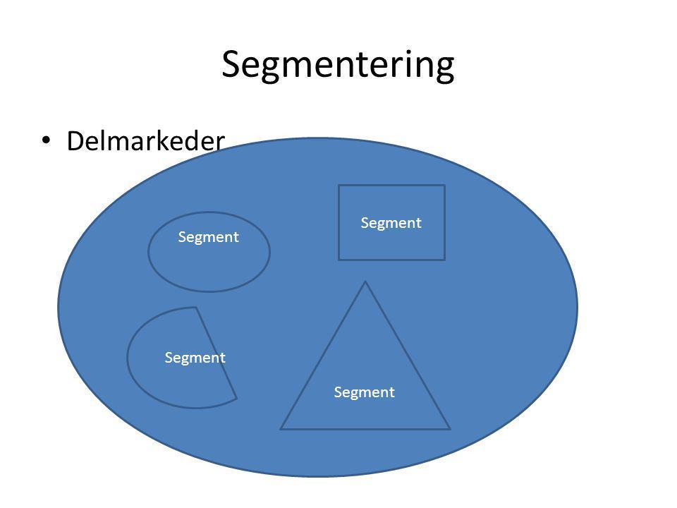 Hva er segmentering.