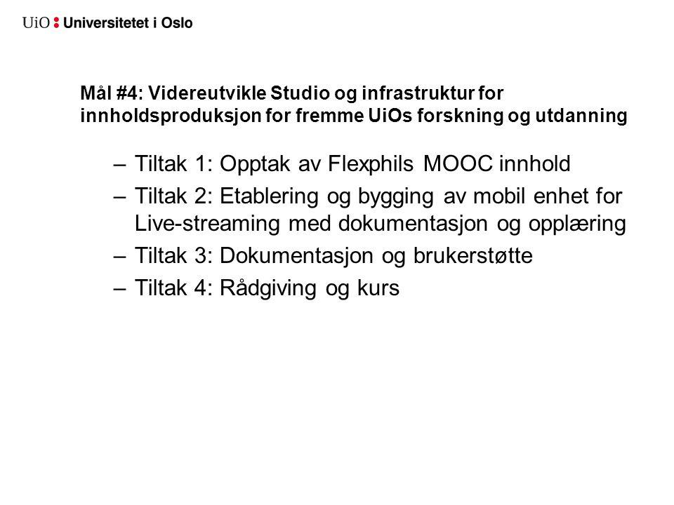 Ressurser: en tredeling SIP: 4. årsverk AV: ?? årsverk Studio: 2 årsverk