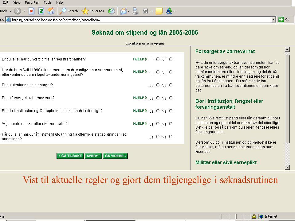 Informert om bruken av personopplysninger, jf pol § 19