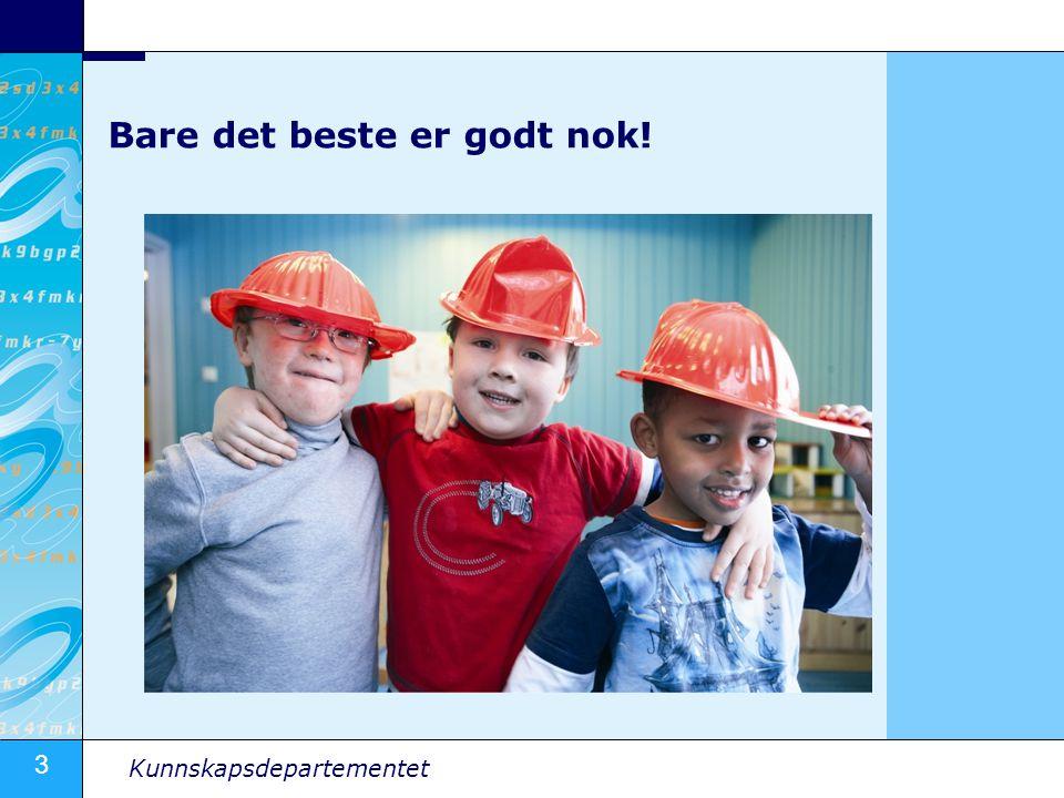 4 Kunnskapsdepartementet Utfordring I 2020 kan Norge mangle 4200 lærere –Norge trenger flere menn og personer med minoritetsbakgrunn i klasserommene Distriktene mest utsatt for lærermangel