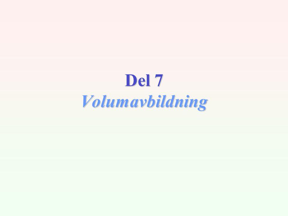 INF2340 / V0412 Hovedstegene i volumavbildning Steg 1) Definerer fire funksjoner som relaterer skalarverdier til henholdsvis farge (RGB, HSV...) og opasitet (  ).