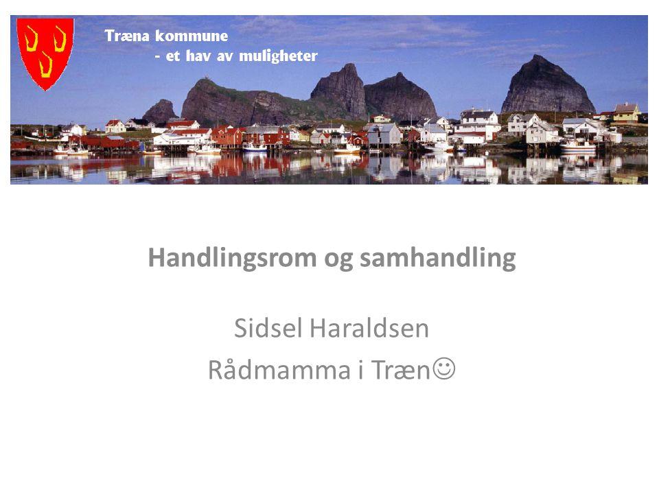 Norske kommuner må stikke fingeren i jorda, og utvide sin samarbeidshorisont.