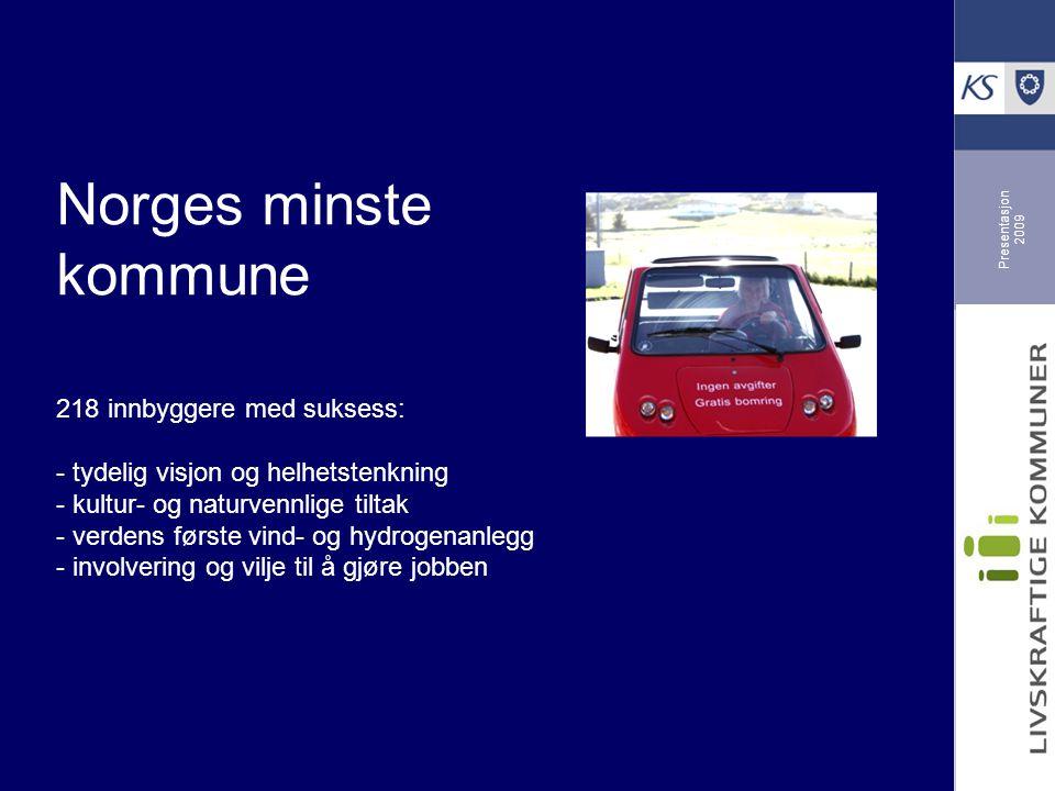 Presentasjon 2009 Frivilligsatsing i Møre- og Romsdal