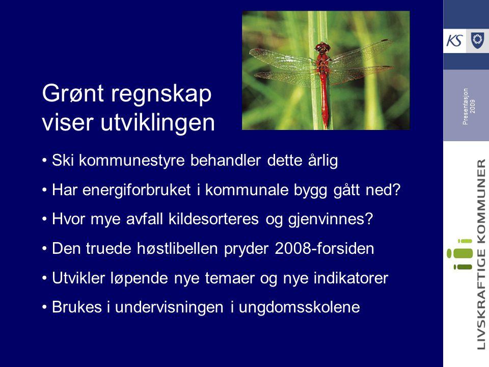 Presentasjon 2009 Verneombud står for miljøsertifisering av kommunen