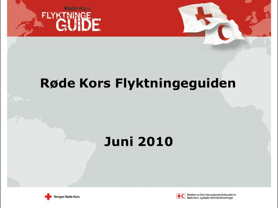 Røde Kors Flyktningeguiden Juni 2010