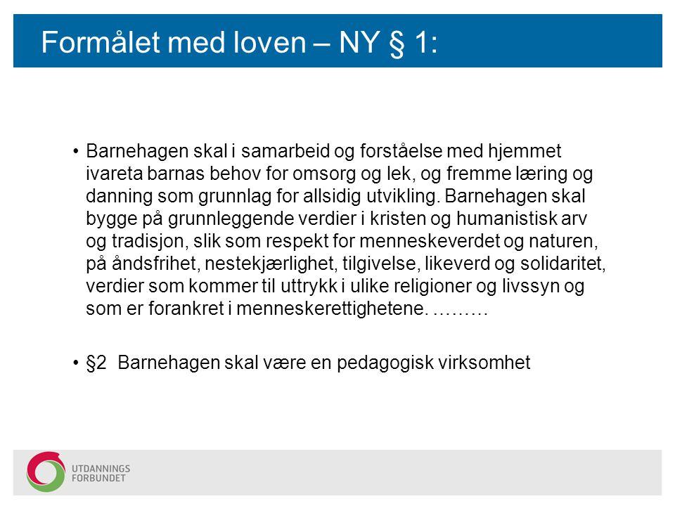 Fylkesmannen i Hordaland Har som oppgave å føre tilsyn med kommunenes forvaltning av barnehagene De kommer på tilsyn og ser hvordan lovens krav blir oppfylt Driver opplæring for dem som er barnehage-ansvarlige i hver kommune