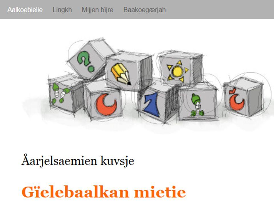 Saemien gïele- jïh maahtoejarnge Samisk språk- og kompetansesenter Prosjekten bïjre