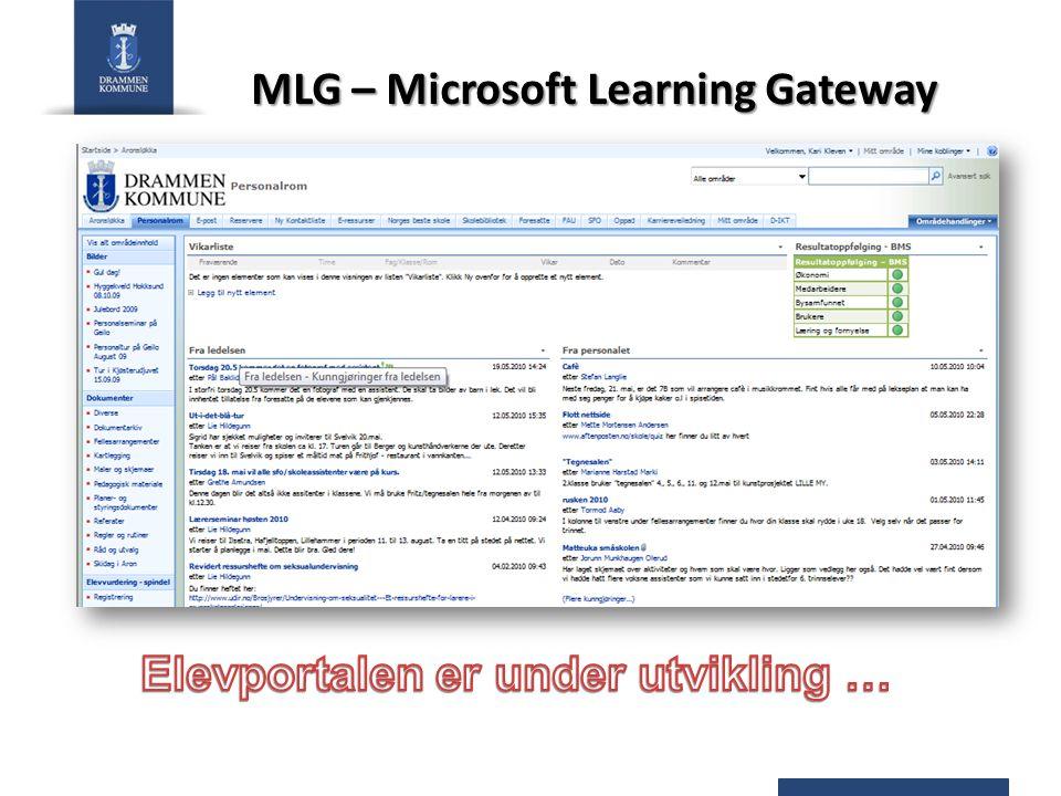 MLG – Microsoft Learning Gateway