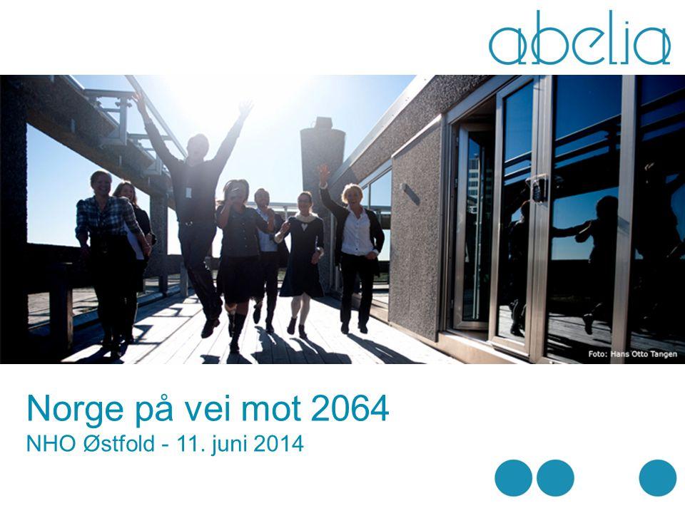 Norge på vei mot 2064 Drivkrefter i endring Norge – en innovasjonssinke ? Ledelse i ukjent terreng