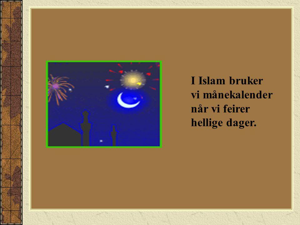 Etter bønnen ønsker alle hverandre ID-MUBARAK