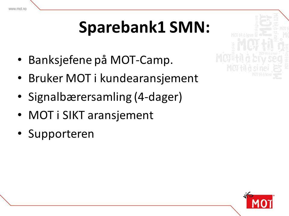 Sparebank1 SMN: Banksjefene på MOT-Camp.