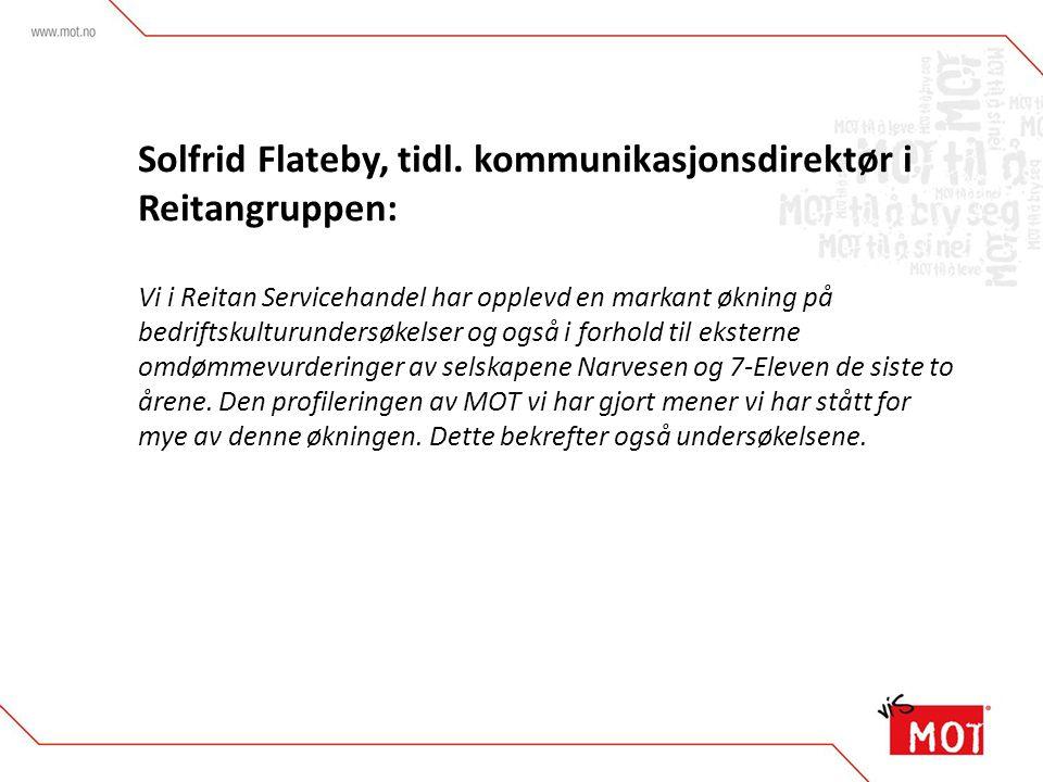Solfrid Flateby, tidl.