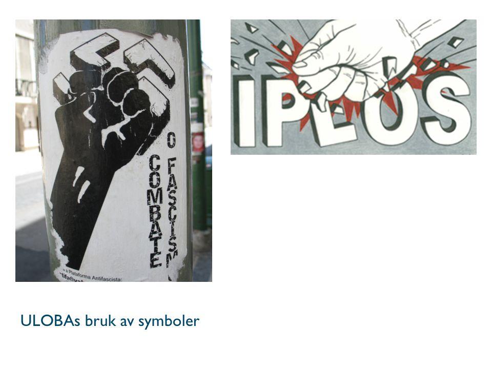 ULOBAs bruk av symboler
