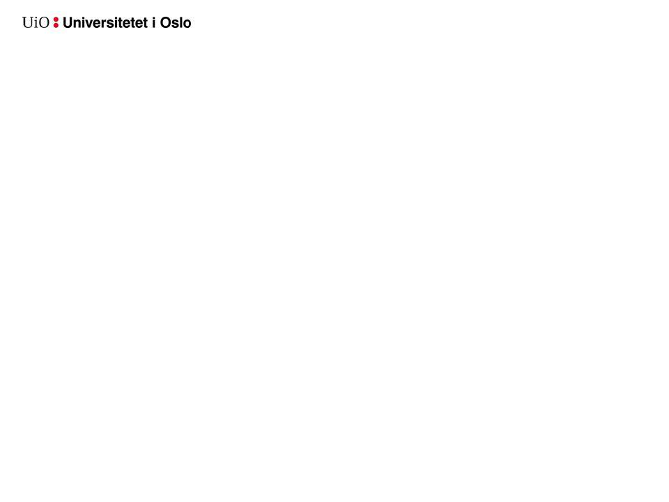 Hvorfor velge UiO som banner på fakultetssider – fungerer det?