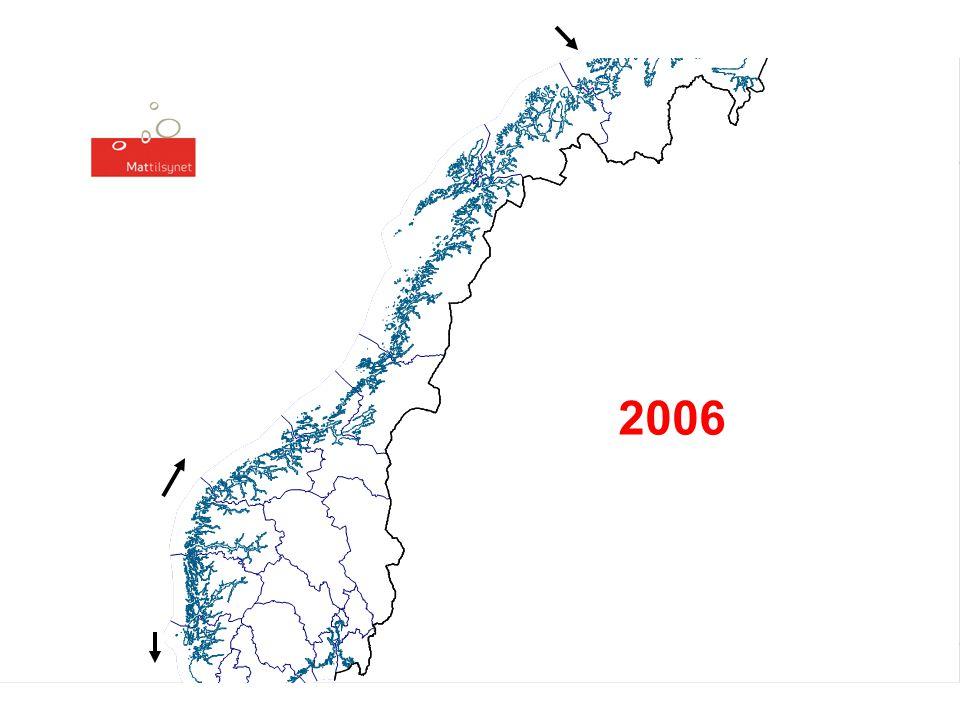 PD – registrerte tilfeller i 2007, pr. 29.8.