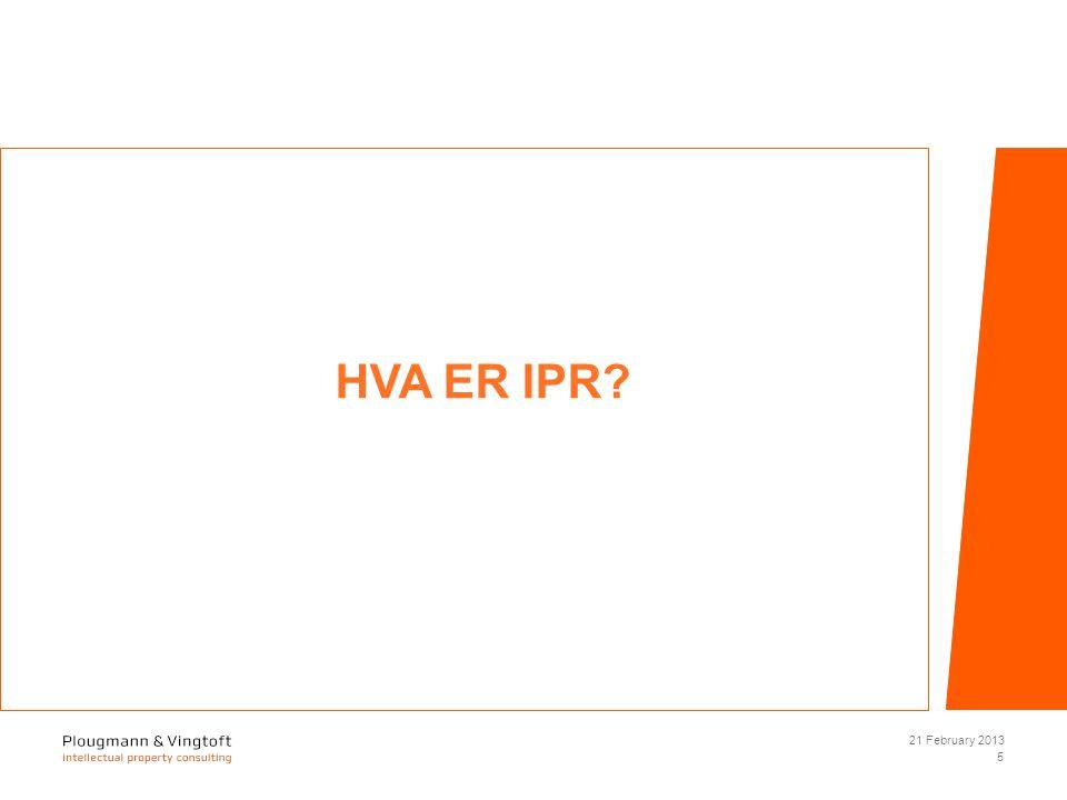 HVA ER IPR 21 February 2013 5