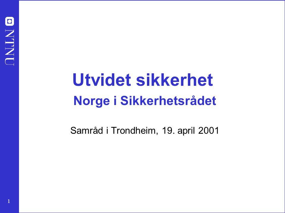 2 Forestillinger om konflikt og sikkerhet Torbjørn L.