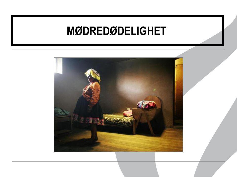 MØDREDØDELIGHET