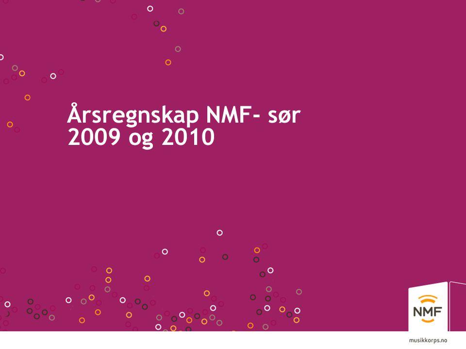 Årsregnskap NMF- sør 2009 og 2010