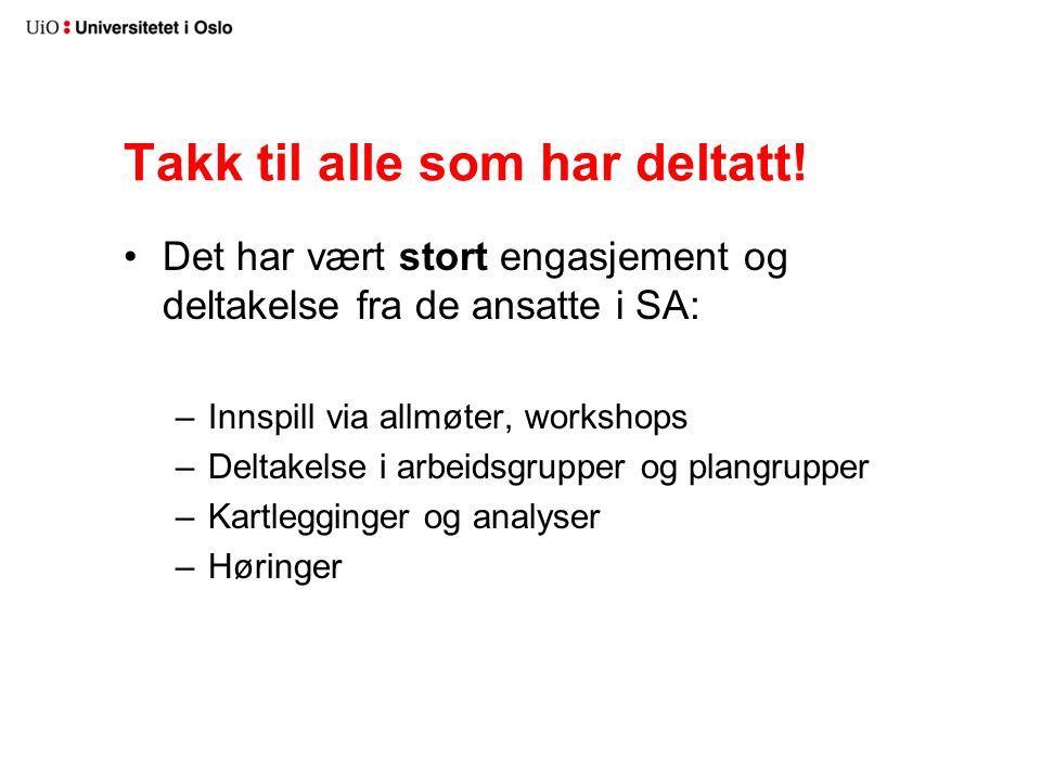 Veien frem til styremøtet 05.02.2013 Vurdere: –Hvilke oppgaver bør/må ligge sentralt.
