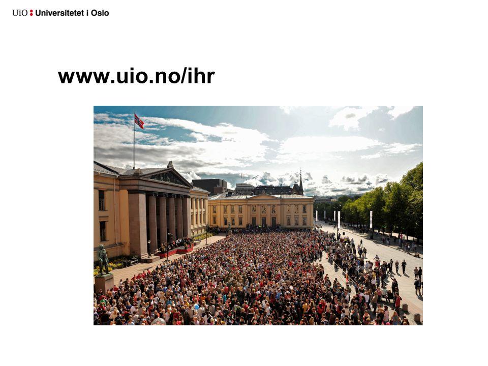www.uio.no/ihr