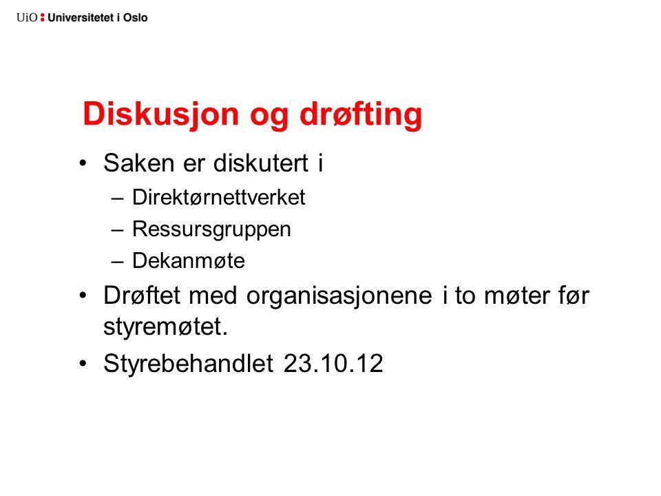 Vedtak for Studieadministrasjon (1) Organiseringen av arbeidet skal som hovedprinsipp følge nærhetsmodellen.