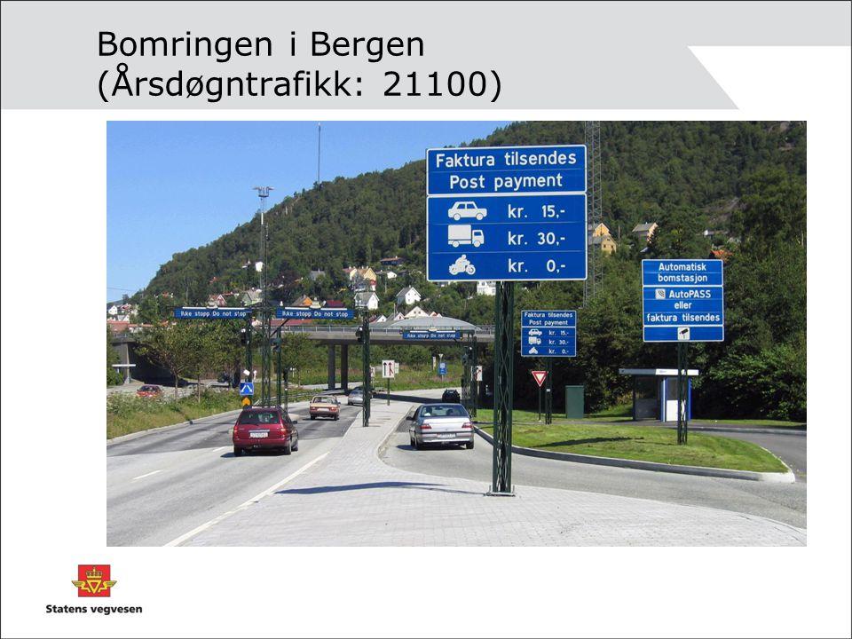 Bomringen i Bergen (Årsdøgntrafikk: 21100)